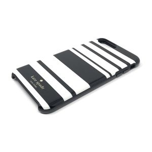 Kate Spade iPhone 6 black and white striped case